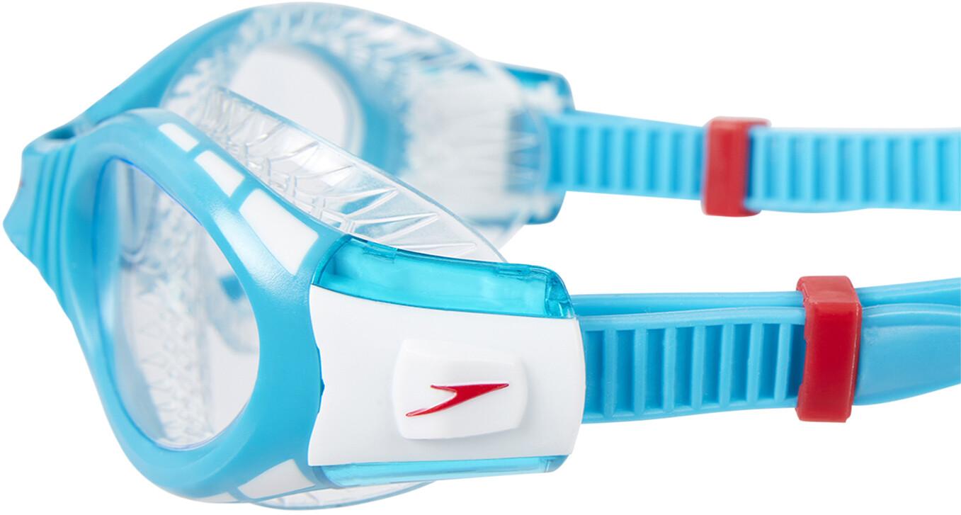 speedo Futura Biofuse Flexiseal Simglasögon Barn transparent turkos ... 7a6f198170313